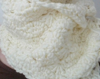 Crochet Scarf - Free international Shipping