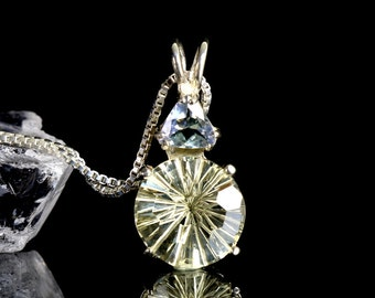 "Golden Labradorite & Tanzanite Super Nova Pendant ""Brilliance and Pure Magic"""