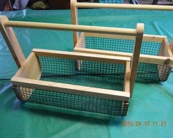 Medium garden gathering  basket