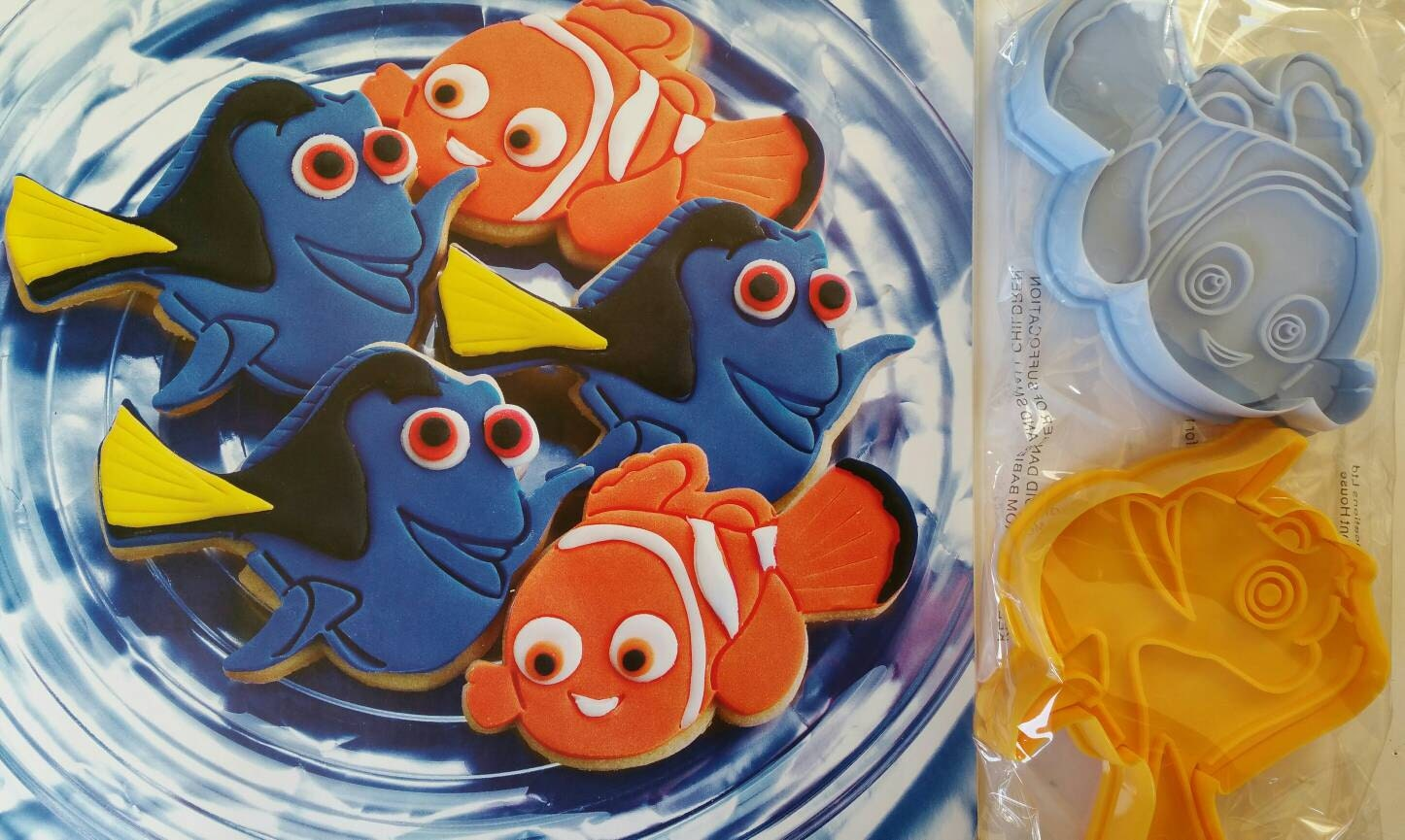 Nemo Dory Cookie Cutter Finding Nemo Finding Dory Cookie