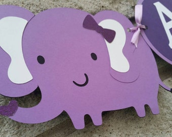 Its a Girl Elephant Banner, Baby Shower Banner, Nursery  Banner, Hospital Banner