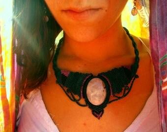 Deep night necklace