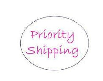Upgraded priority shipping