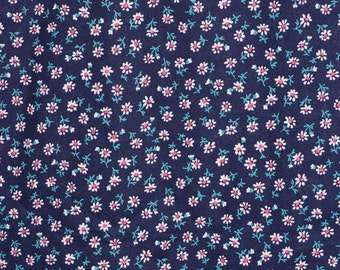 Japanese Cotton Floral Fabric Ditzy Print Small  Sevenberry By the Yard