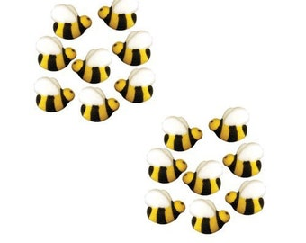 Bumble Bee Shaped Edible Hard Sugar - 16 Count - *FREE SHIPPING*