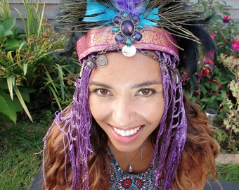 Purple Freya Headdress