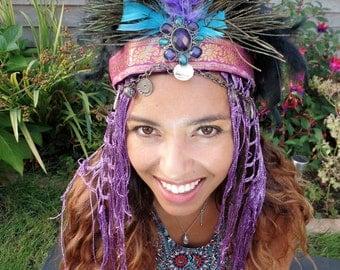 Purple Freya Headdress