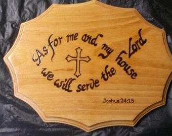 Bible verse plaques