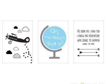 Mini Prints: Oh The Places You'll Go