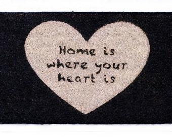 Doormat Home is...