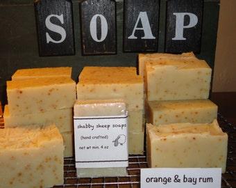 February Soap Box/Orange & Bay Rum