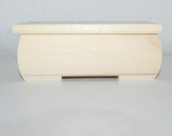 Unpainted Storage /Decoupage Box Jewellery box