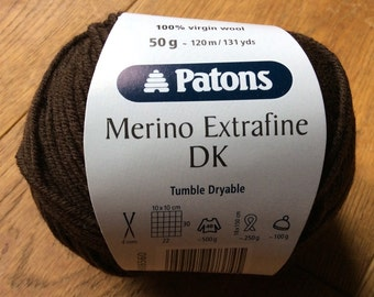 Patons Merino Extrafine Double Knit Wool