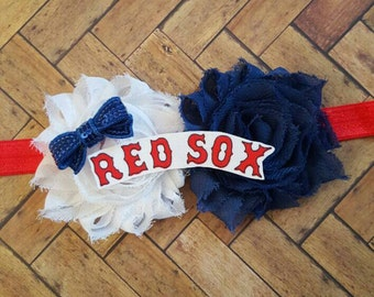 Boston Red Sox Party Mlb Custom Banner Birthday Red Sox