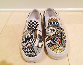 Custom Slip-On Vans
