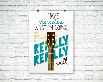 Andy Dwyer Poster / Parks and Recreation / 11 x 17 inches
