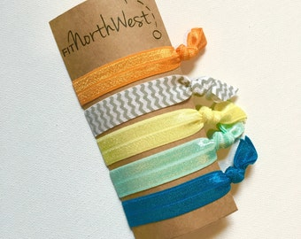 Elastic Hair Ties - Hair Bands - Toucan