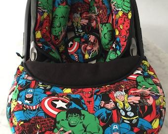 Marvel Superheroes Newborn Cover Set
