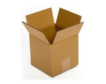 50 7x7x7 Boxes, Cardboard, Shipping & Mailing, Corrugated, Fast Shipping!!