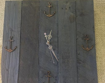 Nautical Pallet Clock