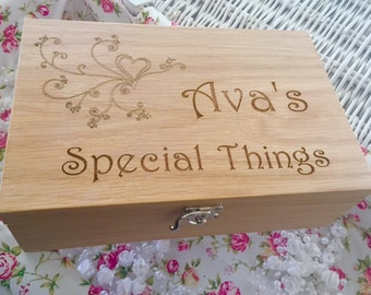 Memories, trinkets and treasures Box