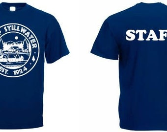 camp stillwater staff tshirt