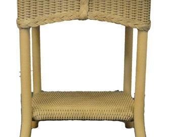 lloyd loom wicker etsy. Black Bedroom Furniture Sets. Home Design Ideas