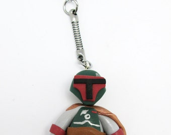 Fimo Boba Fett Star Wars key