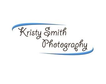 Premade logo, Business logo, swirl logo, simple logo, photography logo