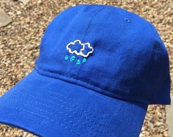 Rain Cloud Embroidered Baseball Cap