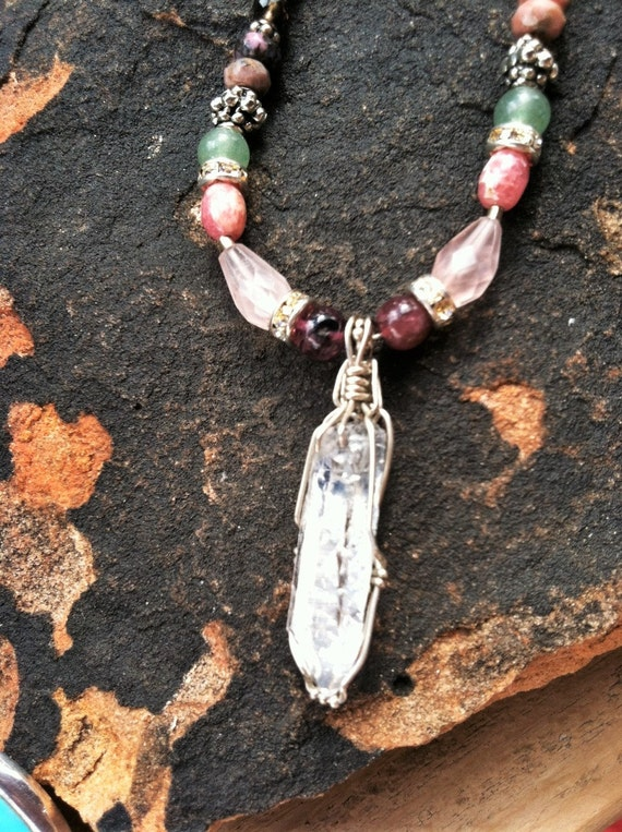 Open Heart,Heart Chakra, Chakra Balancing, Sedona, Vortex Charged, Healing, Metaphysical, Yoga,  Sterling Silver Chain
