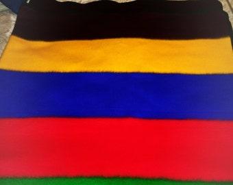 Small beaded Ndebele blanket (110x120cm) Umbhalo and a choker