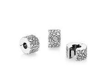 Pandora Layers of Lace Bracelet Clips