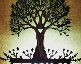 Wall Art- Family Tree