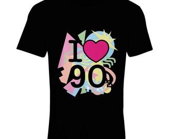 N 4540F Women t-shirt I Love 90'S, Funny t-shirt , prefect gift