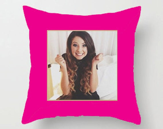 Zoella Throw Pillows : Zoella Pillow by WhatsTrendingbyAE on Etsy