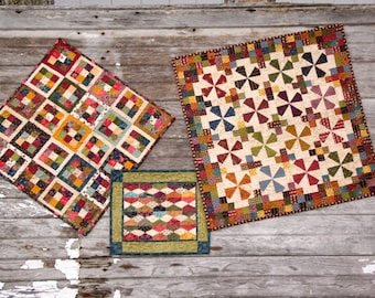 Reproduction Type Quilts  Quilted Wall Hanging  Table Topper  Mini Quilts  Table Runners   Quilt set