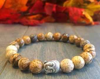 Mens Bracelet Cinnabar Bracelet Healing Bracelet Mala Beads Bracelet Prayer Beads Meditation Bracelet Yoga Bracelet Gift for Him
