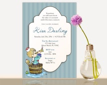 Precious Moments Baby Shower Invitation -Bridal Shower- Baby shower party invite-Girl - Boy Baby Shower Party