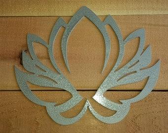 Lotus Metal Wall Hanging, Lotus Flower Wall Art