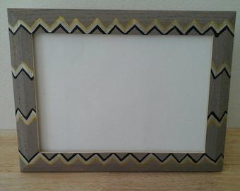 Chevron Picture Frame