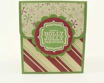 Holiday Gift Card Holder, Christmas Gift Card Holder, Gift Card Holder, Giftcard Holder, Gift Card Holder Holiday, Christmas Gift, Holiday