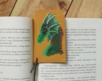 Rhaegal dragon bookmark / Game of Thrones bookmark / Targaryen dragon genuine leather bookmark / Dragon leather bookmark / Fantasy leather