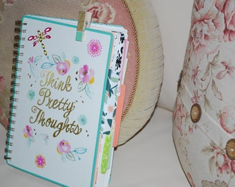 THICK JUNK journal, Mixed Media altered journal, soulful journal, inspirational diary, Notebook