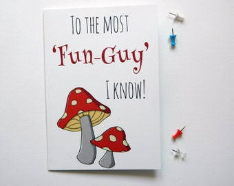 Fun Guy Father's Day Card