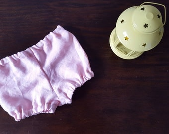 Pink inen shorts / Bloomers