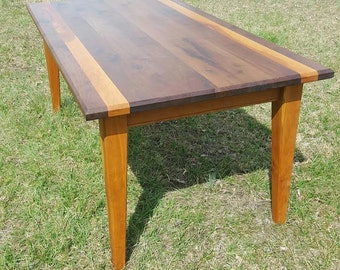 Handcrafted Hardwood Dining Table