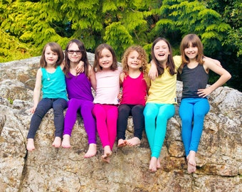 Single Childrens Bamboo Leggings- Back To School Musthave!