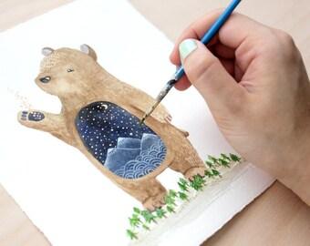 Pabu the Spirit Bear 8x10 Print
