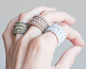 Fresh trend: Woven jewelry
